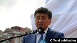 Премьер-министр Кыргызстана Сооронбай Жээнбеков.