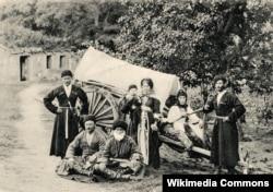 Кабардинская семья, 1900 год