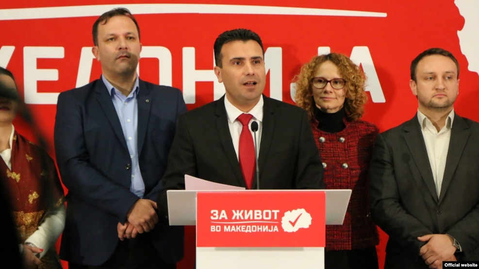 Zoran Zaev, leader of the Social Democratic Union, has charged that there were voting irregularities in the December 11 elections