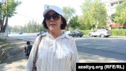 Активистка Маруа Ескендирова, Уральск, 20 августа 2021 года