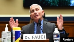 Dr. Anthony Fauci, directorul Institutului Național pentru Alergii și Boli Infecțioase din Statele Unite.