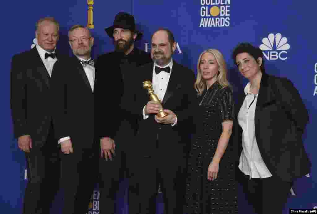 دستاندرکاران سریال «چرنوبیل»، برنده بهترین سریال تلویزیونی