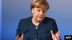 Angela Merkel , Mönhen,18 fevral 2017