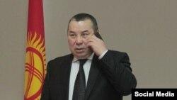 Балбак Түлөбаев, Бишкек шаарынын мэринин милдетин аткаруучу.