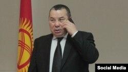 Бишкек мэринин милдетин аткаруучу Балбак Түлөбаев.