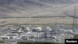 The two-day tour reportedly takes the diplomats to the heavy water installation in Arak (pictured) and the main uranium-enrichment facility at Natanz, both in central Iran.