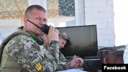 Командувач ОК «Північ» Валерій Залужний