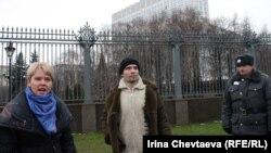 Защитники Химкинского леса против Путина