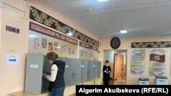 Бишкектеги шайлоо. 11-апрель, 2021-жыл.