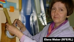 Галина Цой, руководитель семейной творческой мастерской. Караганда, 4 мая 2013 года.