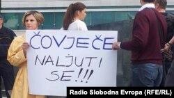 BiH: Nastavak protesta zbog matičnog broja
