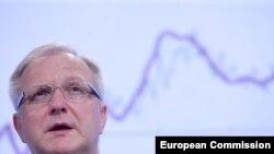 Член Еврокомиссии по экономике Олли Рен