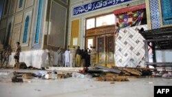 Суфійська мечеть Лал Шахбаза Каландара після теракту, місто Сехван, Пакистан, 16 лютого 2017 року