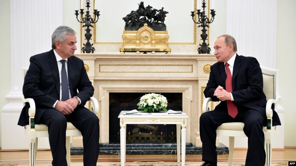 Предыдущий визит Путина в Абхазию состоялся в декабре 2016 года