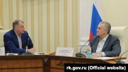 Владимир Константинов и Сергей Аксенов, июнь 2020 года