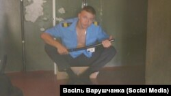 Тут і ніжэй фота са старонкі Васіля Варушчанкі «ЎКантаеце»