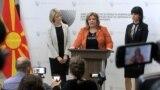 Архива - Прес-конференција на Специјалното јавно обвинителство - СЈО. обвинителките Катица Јанева, Фатиме Фетаи и Ленче Ристоска.