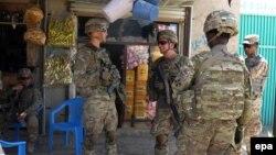 Ushtarët amerikanë në Afganistan