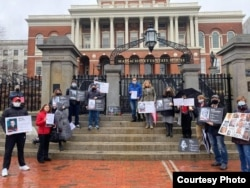 Акция в Бостоне