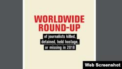 Порівняно з 2018 роком число загиблих журналістів скоротилося на 44%, відзначають експерти