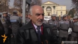 Armenian Soviet-Era Dissident Starts Protest In Yerevan Demanding EU Deal