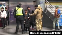 Муніципальної охорони Києва, Київський залізничний вокзал