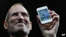 ԱՄՆ - Սթիվ Ջոբսը ներկայացնում է նոր iPhone 4-ը, Սան Ֆրանցիսկո, 7-ը հունվարի, 2010թ.