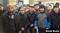 Мигранты из Кыргызстана в Москве.