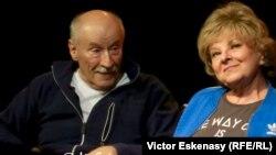 "Victor Rebengiuc și Mariana Mihuț în spectacolul ""Umbre""..."