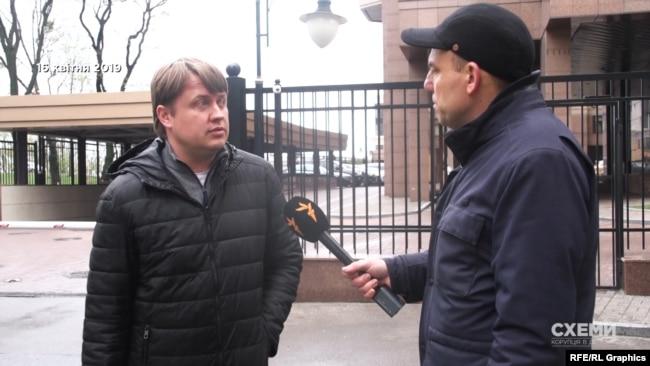 Андрій Герус підтвердив журналістам факт самої зустрічі
