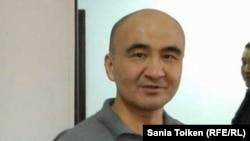 Гражданский активист Макс Бокаев, приговоренный к пяти годам тюрьмы после митинга в Атырау против инициированной властями земельной реформы.