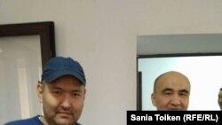 2016-жылы соттолгон укук коргоочулар Макс Бокаев менен Талгат Аян.