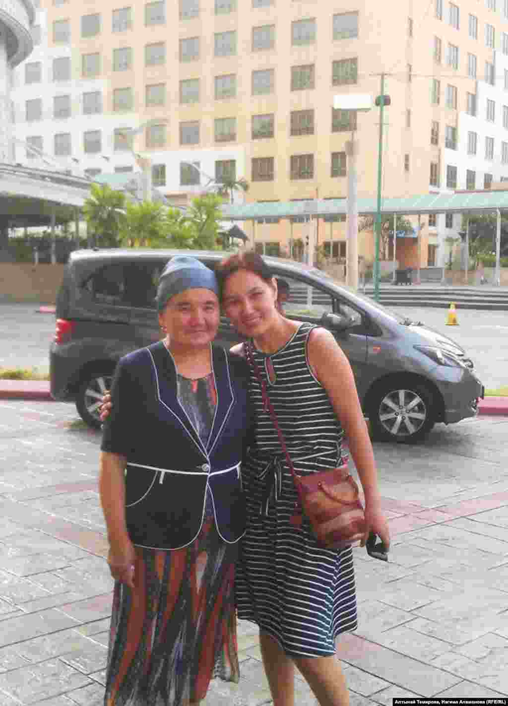 Нагима со своей наставницей Роза-эже