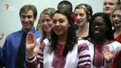 Після дворічної перерви в Україні поновили свою діяльність волонтери Корпусу миру США (відео)