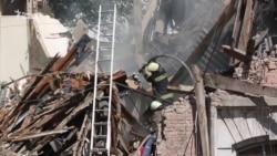 Наслідки вибуху в житловому будинку Києва (відео)