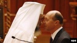 Preşedintele Băsescu şi Patriarhul Daniel