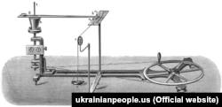 Один із винаходів Івана Пулюя. Апарат для визначення механічного еквіваленту тепла