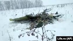 Ռուսաստան - Կործանված օդանավի բեկորներից, 11-ը փետրվարի, 2018թ.