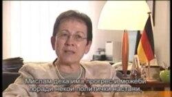 Интервју со Гудрун Штајнакер