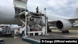 Boeing 757-200 российской авиакомпании E-Cargo