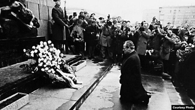 Willy Brandt, Varšava, 1970.