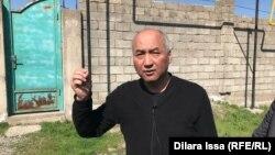 Профсоюзный активист Ерлан Балтабай. Шымкент, 20 марта 2020 года.