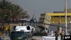 O baterie de rachete Irom Dom de la aeroportul Ben Gurion (Tel Aviv)