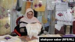 نمایشگاه زنان تجارت پیشه در هرات