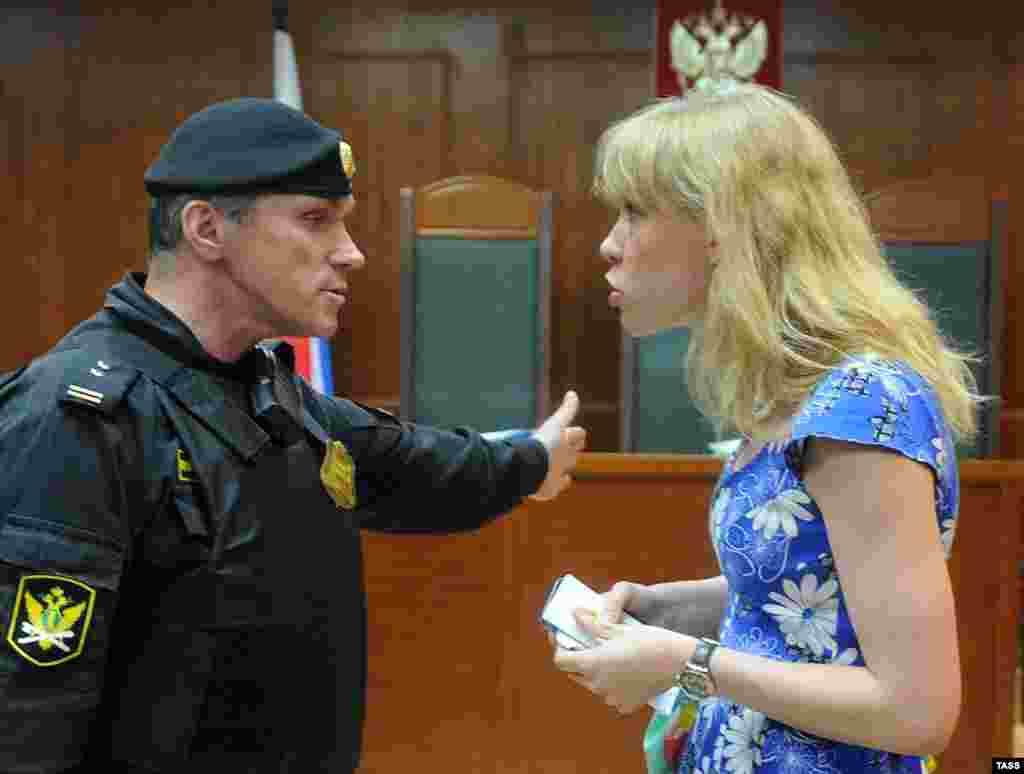 """Фигурантка """"Болотного дела"""" Мария Баронова обвинялась по статье УК """"призывы к массовым беспорядкам"""", находилась под подпиской о невыезде. Ее дело прекращено по амнистии"""