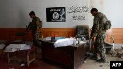 عکس از یک مرکز داعش که توسط نیروهای افغان تصرف شده بود