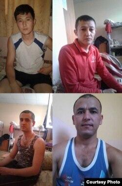 Mahbuslar Quronboev Erkaboy, Masharipov Oxun, Yaxshiboev Ilhomboy va Amonov Olimjon.