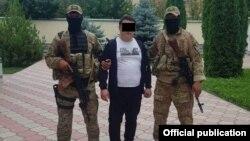 Задержание Нурбека Айтмаматова.