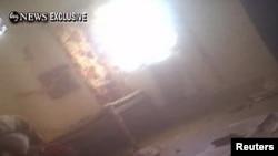 Pamje nga një dhomë e vilës ku ishte strehuar Bin Laden...