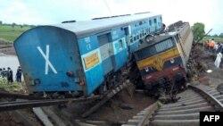 Երկաթուղային վթարը Հնդկաստանում, 5-ը օգոստոսի, 2015թ․